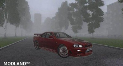 Nissan Skyline GTR V Spec II (R34) [1.5.9], 1 photo
